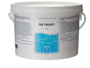 TabTwenty klortablett - 2,5 kg