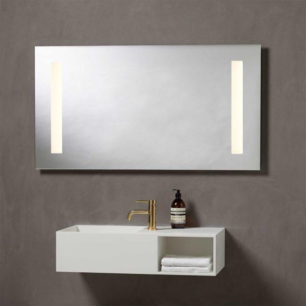 Speil med integrert Lys 120 cm