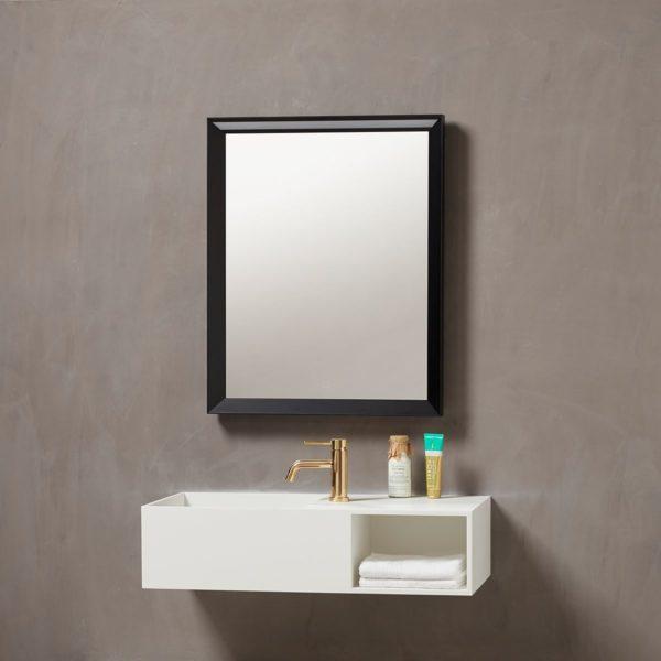 Verona speil med ramme 60cm
