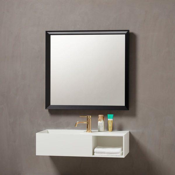 Verona speil med ramme 80cm