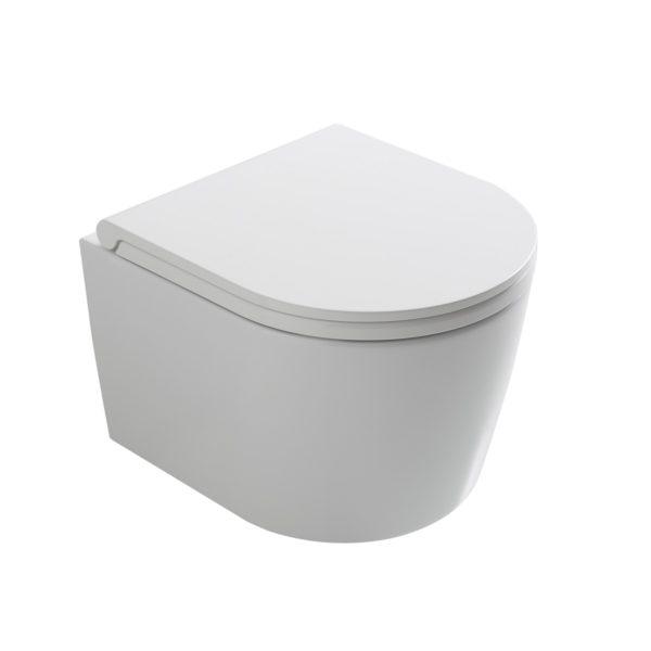 GloboForty3toalett,vegghengtkompaktmodell